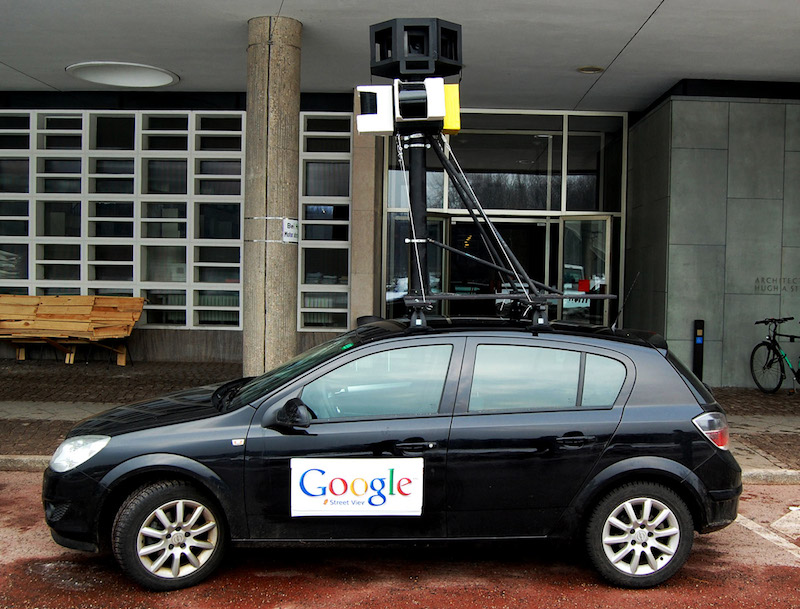 F.A.T. Lab's version of the Google Street View car. Photo courtesy of F.A.T. Lab.