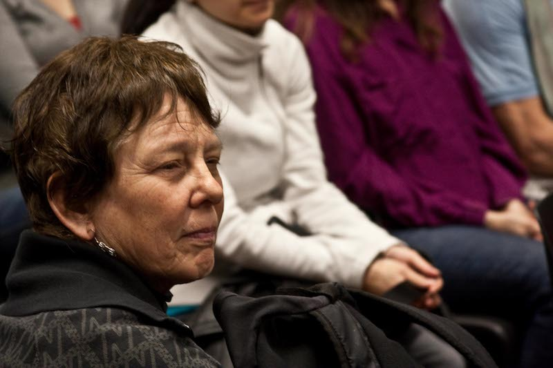 Martha Cooper in 2010. Photo courtesy of the New York Council for the Humanities.