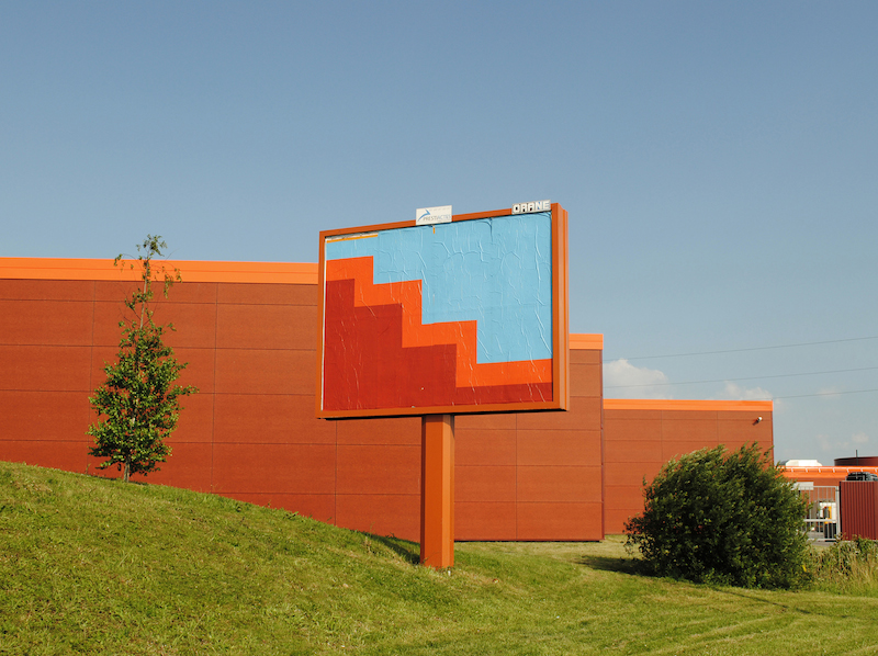 A 2013 ad takeover by OX in Dammarie-lès-Lys. Photo by OX.